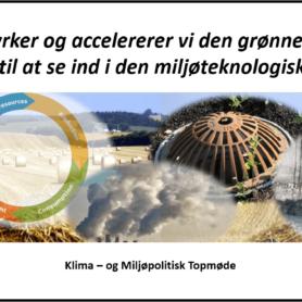 Klima – og Miljøpolitisk Topmøde d. 27. januar 2020