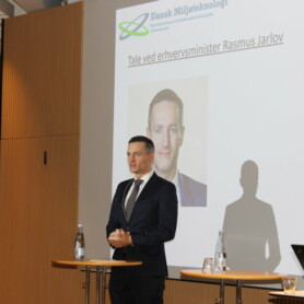 Succesfuldt topmøde i dansk Miljøteknologi